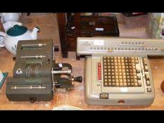A Lagomarsino Numeria electro mechanical calculat