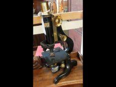 A Watson and Sons of London 'Kima' microscope