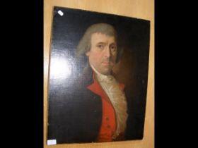 Oil on canvas portrait of Victorian gentleman - 60
