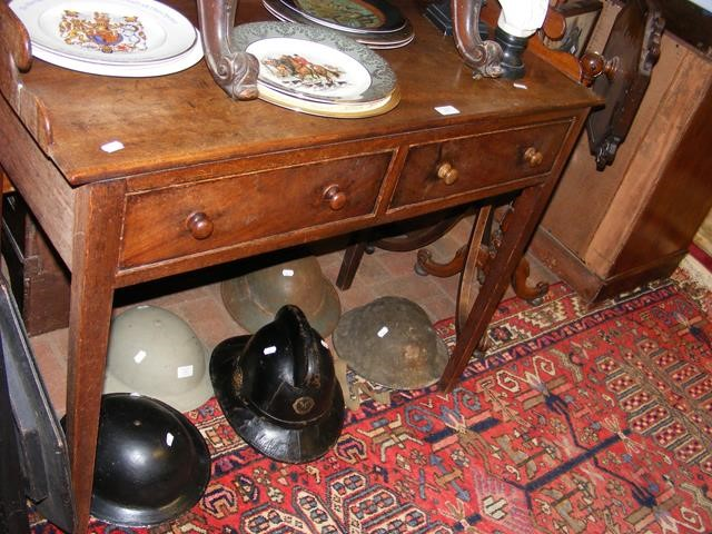 An antique washstand