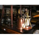 A quantity of antique kitchen collectables