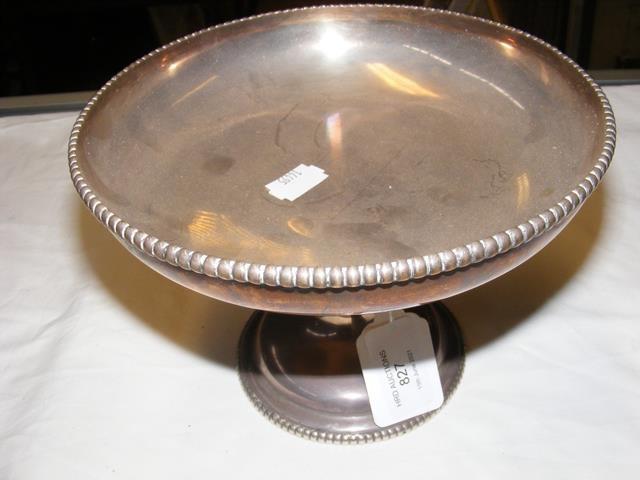 A silver tazza with Sheffield hallmark - approx. 1