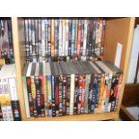 A generous assortment of DVD's (50 plus)