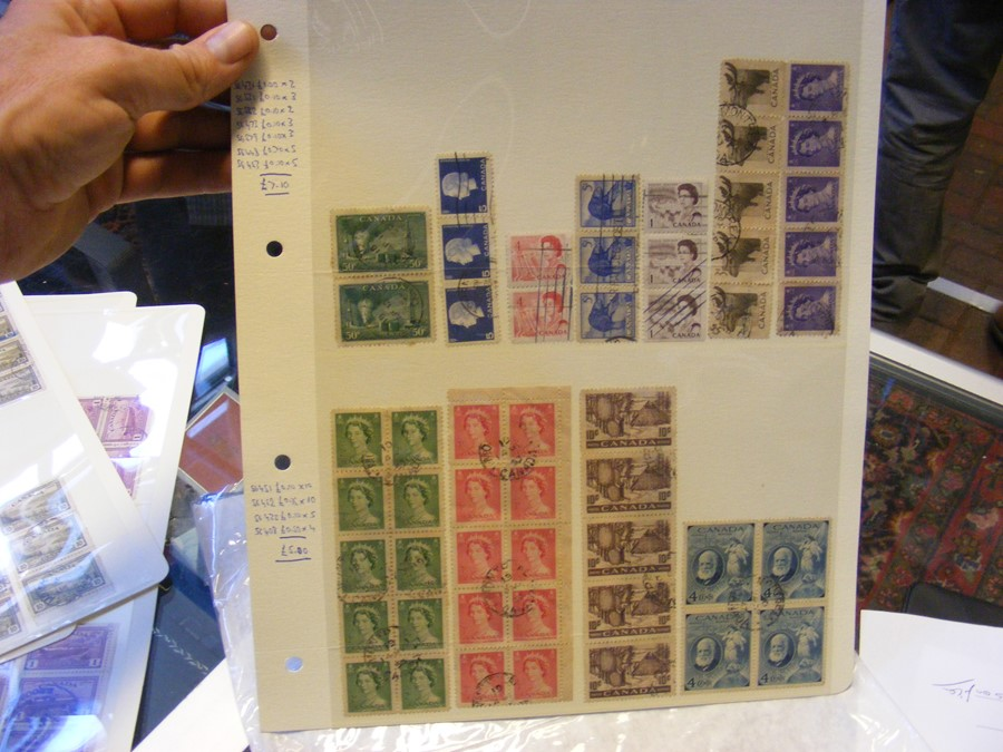 Collectable stamps, New Zealand, Canadian (high ca - Image 7 of 7