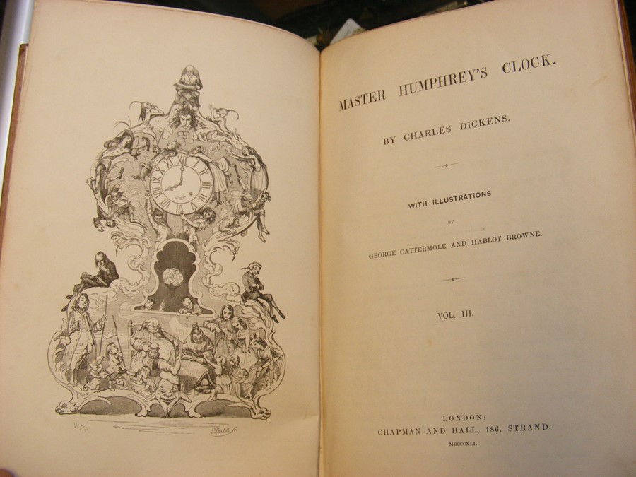 Charles Dickens - 'Master Humphrey's Clock' in thr - Image 12 of 15