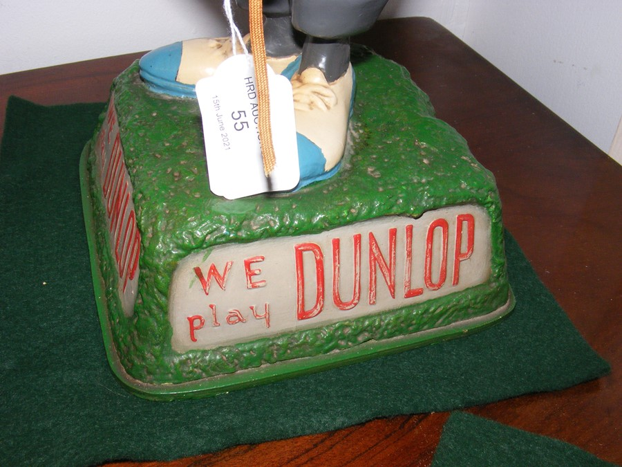 An early original 'We Play Dunlop' golfing adverti - Image 2 of 4