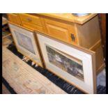 A modern sideboard - width 168cm