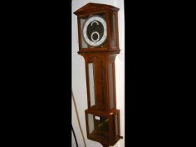 Josef Felz - regulator wall clock with 19cm enamel