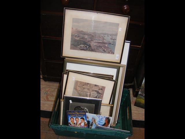 A selection of various pictures and prints