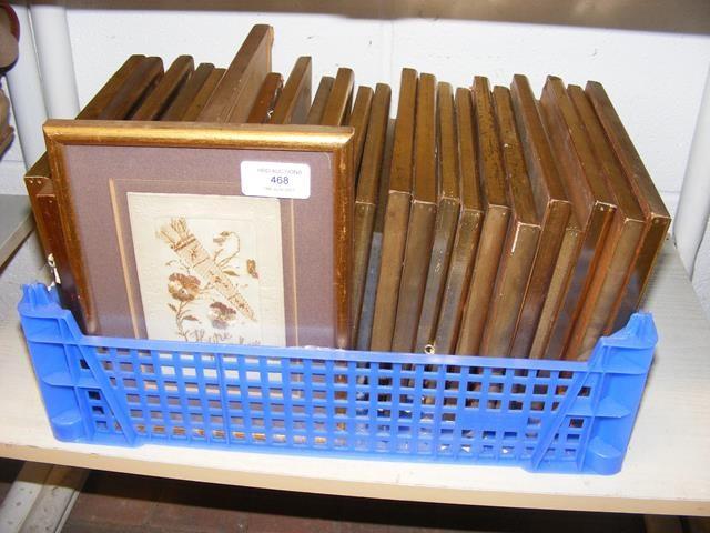Various First World War silk cards