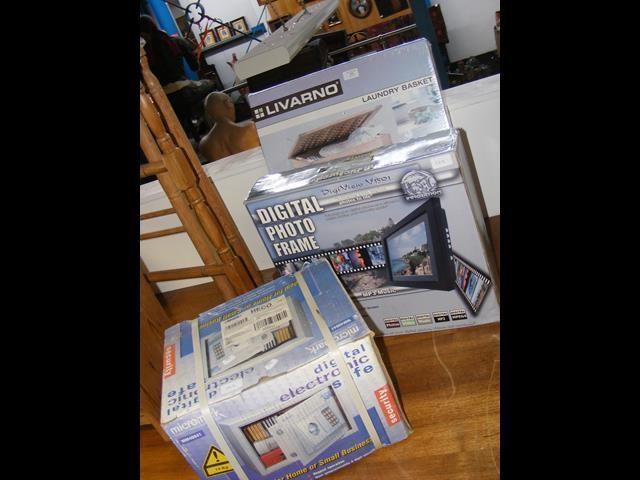 A digital electronic safe, a digital photo frame a