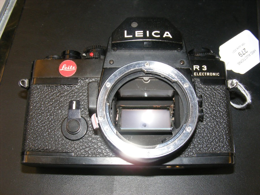 A Leica R3 electronic SLR camera - Image 2 of 13