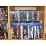 A generous assortment of Blu-rays (50 plus)