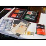An album bearing GB presentation packs together wi