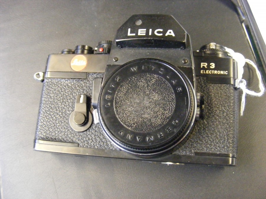 A Leica R3 electronic SLR camera - Image 9 of 13