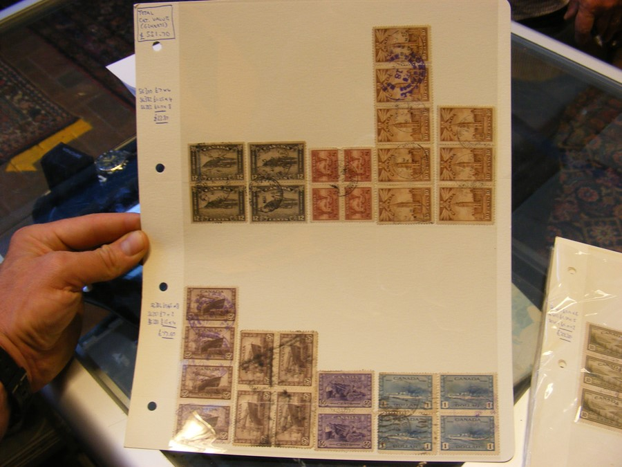 Collectable stamps, New Zealand, Canadian (high ca - Image 2 of 7