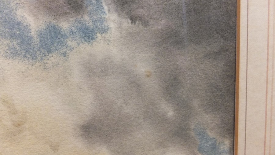 VAN STAATEN - large pair of watercolours of coasta - Image 5 of 9
