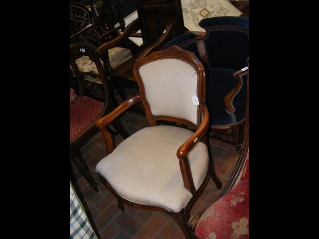A French style armchair