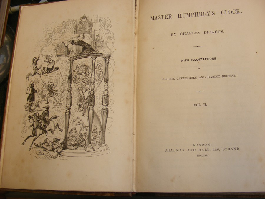 Charles Dickens - 'Master Humphrey's Clock' in thr - Image 9 of 15