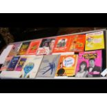 A selection of 1960's theatre programmes