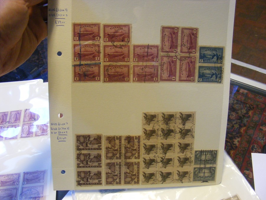 Collectable stamps, New Zealand, Canadian (high ca - Image 5 of 7