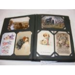 A postcard album - GB and other