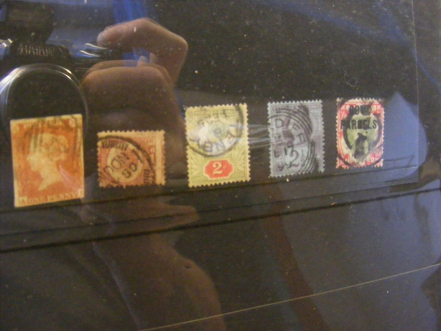 GB Victorian stamps and covers contained in two al - Image 2 of 12