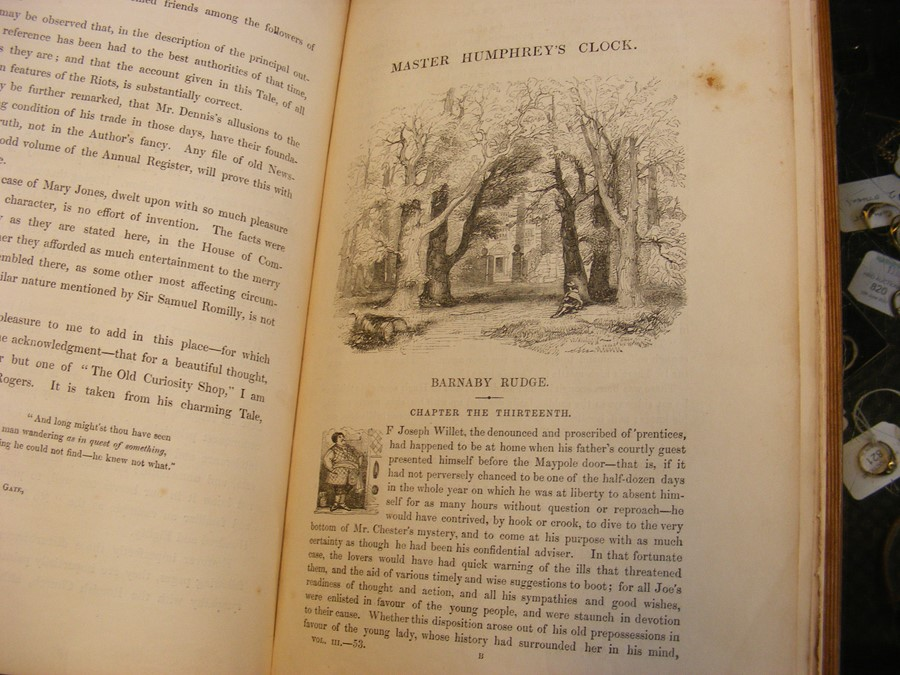 Charles Dickens - 'Master Humphrey's Clock' in thr - Image 14 of 15