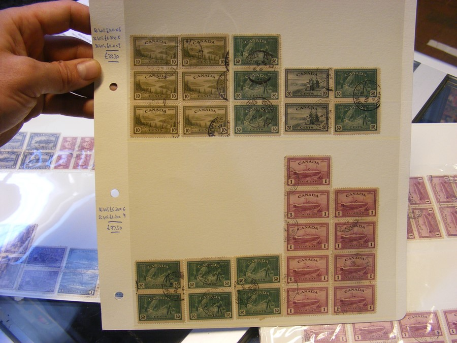 Collectable stamps, New Zealand, Canadian (high ca - Image 3 of 7