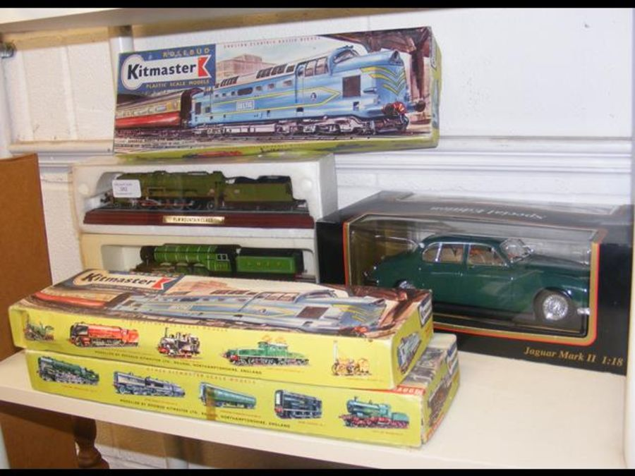 Three boxed Kitmaster scale model trains for 00 an - Image 2 of 2