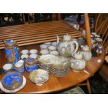 A medley of Oriental styled tea services