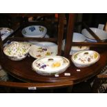 A selection of table ware including Royal Worceste