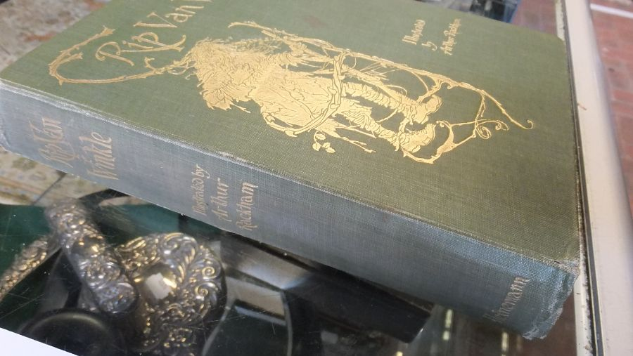 Rip Van Winkle 1905 edition with illustrations by - Image 2 of 8
