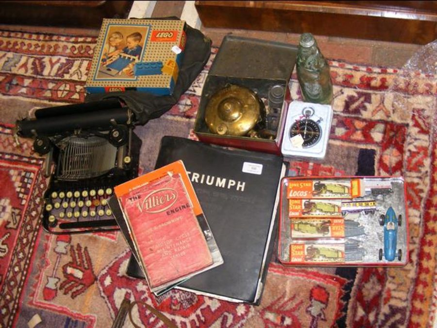 Various collectables, including a typewriter, Triu - Image 2 of 2