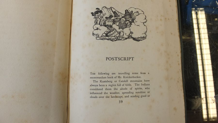 Rip Van Winkle 1905 edition with illustrations by - Image 5 of 8