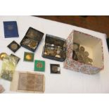 Various collectable coins and notes