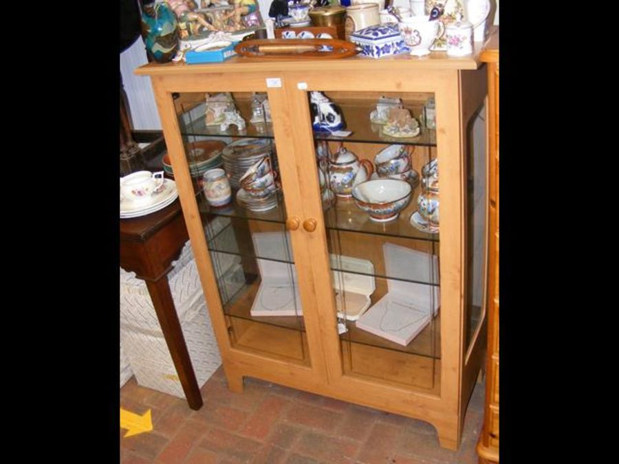 A modern display cabinet