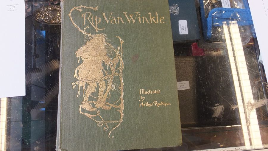 Rip Van Winkle 1905 edition with illustrations by - Image 3 of 8