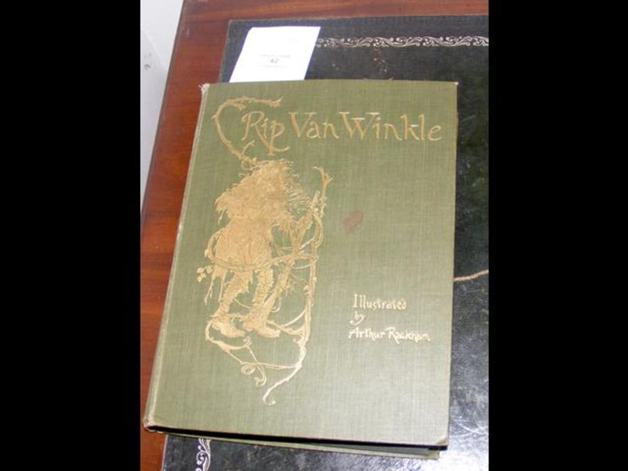 Rip Van Winkle 1905 edition with illustrations by - Image 8 of 8