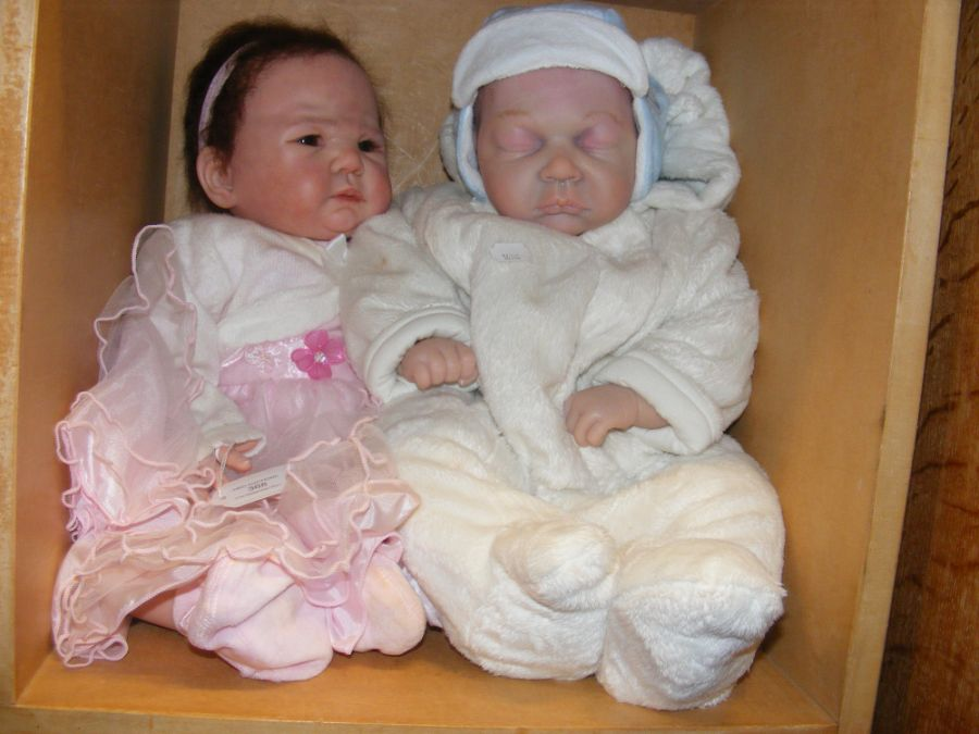 Two Heirloom quality Reborn Baby Dolls