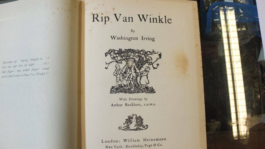 Rip Van Winkle 1905 edition with illustrations by - Image 4 of 8
