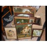A medley of antique pictures