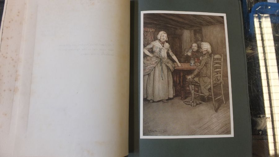 Rip Van Winkle 1905 edition with illustrations by - Image 6 of 8