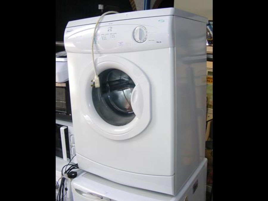 A Hotpoint tumble dryer