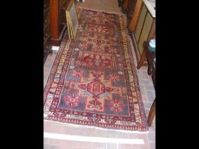 A Middle Eastern runner with geometric border - ?2