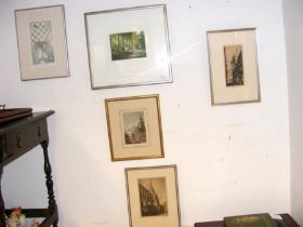 Original etchings, Limited Edition Christopher Pen