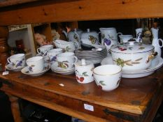 A selection of Royal Worcester 'Evesham' pattern c