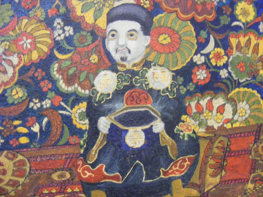 ATTRIBUTED TO PATRICIA FAULKNER - Chinese still li - Image 3 of 4