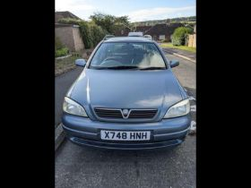 FROM A DECEASED ESTATE - A Vauxhall Astra Club Auto - Reg, X748 HNH
