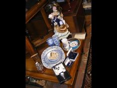 Collectable doll, vases etc
